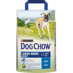 PURINA DOG CHOW 2,5kg ADULT LARGE BREED INDYK