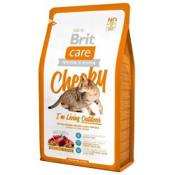 BRIT CARE CAT 2kg CHEEKY OUTDOOR