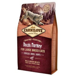 CARNILOVE CAT 2KG DUCK&TURKEY LARGE BREED