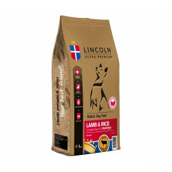 LINCOLN 3kg PUPPY LAMB AND RICE