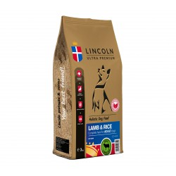 LINCOLN 12kg ADULT LAMB RICE